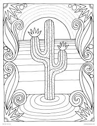 Array inspirational cactus coloring page u2013 advance thun rh advance thun
