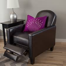 Leather Chairs For Living Room Modern Leather Recliner Image Is Loading Interior Leather Chair
