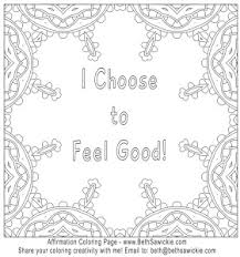 Small Picture affirmation coloring page 01 beth sawickie Kolor Me Affirmations