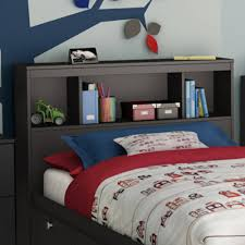 Bookcase Bedroom Furniture South Shore Spark Full 54 Bookcase Headboard Multiple Finishes