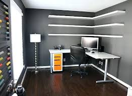 modern corner desk how to customize and install floating shelves house on the left wall art modern corner desk with bookcase small computer