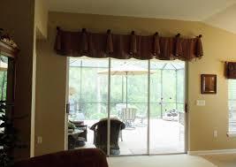 image of sliding glass door window treatments design