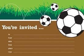 Soccer Party Invitations Soccer Invite Templates Under Fontanacountryinn Com