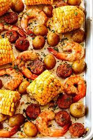 sheet pan shrimp boil video make
