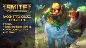 Pacchetto Gecko Guardian SMITE - Epic Games Store
