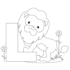 Alphabet Coloring Pages Letter L Miscellaneous Coloring Pages