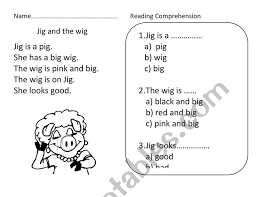 See our extensive collection of esl phonics materials for all levels, including word lists, sentences, reading passages, activities, and worksheets! Reading Comprehension For Phonics Esl Worksheet By Nutcharat