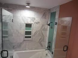 tub and shower frameless enclosure patriot gl mirror san