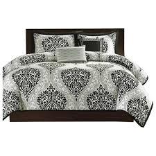white damask comforter set