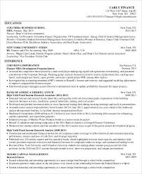 business school resume - Sample Business School Resume