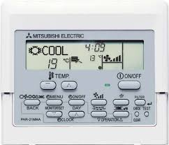 par maa wired controller mitsubishi electric mitsubishi electric par 21maa wired remote controller