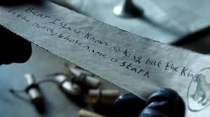 game of thrones bear island letter