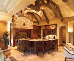 Extravagant Ceiling Idea For Old World Kitchen Design
