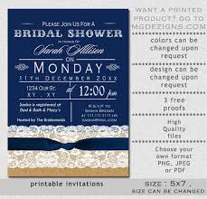 Free Bridal Shower Invitations Templates Amazing PRINTABLE Bridal Shower Invitation Template Rustic Bridal Shower
