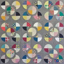 Circle Quilt Patterns Custom Flower Path Quilt SewAlong Sew Mama Sew