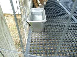 outdoor dog kennel flooring ideas plastic for kennels designs