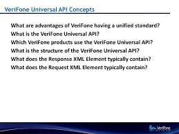 verifone universal api concepts helpdesk training 2 verifone universal