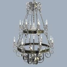forged chandelier 3d model