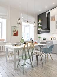 scandinavian lighting design. Kingston Lafferty Design White Modern Dining Room Scandinavian Lighting