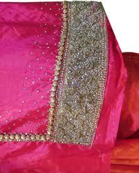 Saree Blouse Hand Work Designs Silk Blouse Hand Work Designs Tissino