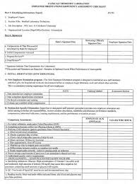 Staff Orientation Checklist An Employee Competency And Assessment Checklist To Assess The