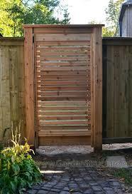 Fence Double Gate Design Cedar Creek Fences Pergolas Arbors And