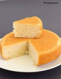 Eggless Vanilla Sponge Cake Recipe In 2019 Cakes And Bakes