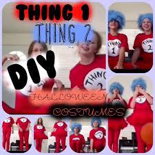 diy thing 1 and thing 2 shirts