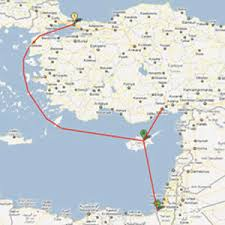 Image result for gaza strip turkey map