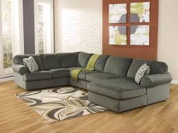 Microfiber Living Room Set Sonata Large Modern Pewter Microfiber Living Room Sofa Couch