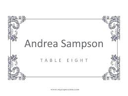 Table Setting Templates Table Place Setting Mountainrescue Info