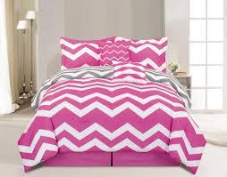 chevorn pink twin comforter set