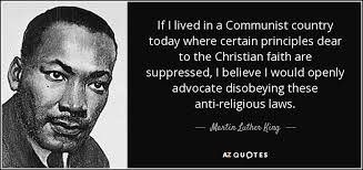 Martin Luther King Christian Quotes Best of Quote Of The Day Martin Luther King Jr On Religious Freedom And