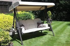 outside swing chair. Rimini 3 Seat Patio Swing Chair Outside A