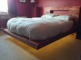 raised platform pallet bed