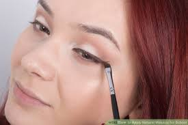 image led apply natural makeup for step 17
