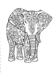 Coloring Page Of An Elephant Elephant Coloring Page E Is For