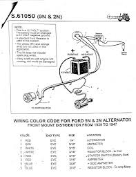 ford tractor alternator wiring diagram tractor parts and wiring ford tractor alternator wiring diagram 3