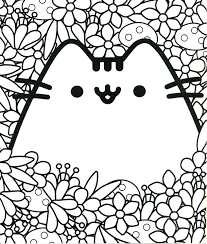 Print them all for free and have a kitty party! Pusheen Coloring Pages Coloring Home