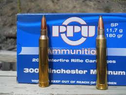 Ammunition Test Prvi Partizan 300 Winchester Magnum 180