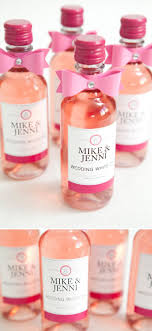 Diy Wine Bottle Labels Learn How To Make These Chic Wine Bottle Wedding Favors Mini