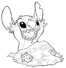 cross stitch coloring pages stitch coloring pages lilo stitch stitch covering himself with sand in lilo