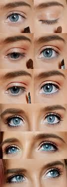 blue eyes makeup 12 makeup tutorials for blue eyes