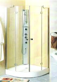 corner shower enclosures stalls custom enclosure 2 glass panels s6 corner