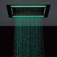 crosswater rio revive shower head with led lighting uk bathrooms crosswater rio revive shower head with led lighting