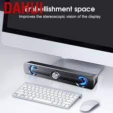 Loa Âm Thanh Nổi 3.5mm Nhỏ Gọn Chuyên Nghiệp Cho Máy Tính / Laptop
