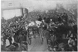 Amazon.com: Dogger Bank Incident 1908 Nfuneral Procession At Hull England  For Fishermen George Henry Smith And William Richard Leggott The Two Men  Were Killed During An Accidental Attack At Dogger Bank In