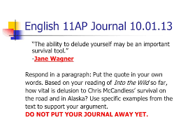 english ap journal turn in position essay outlines to the bin  2 english