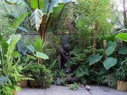 Small Picture Beautiful Tropical Garden Design For Minimalist Home Patio