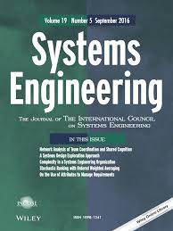 template for submissions to journal template for submissions to systems engineering latex template